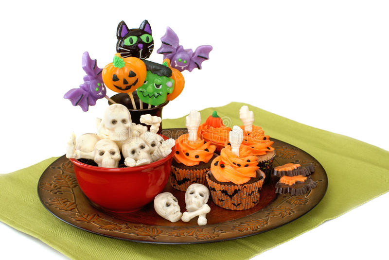 Doces de Halloween fotografia de stock royalty free