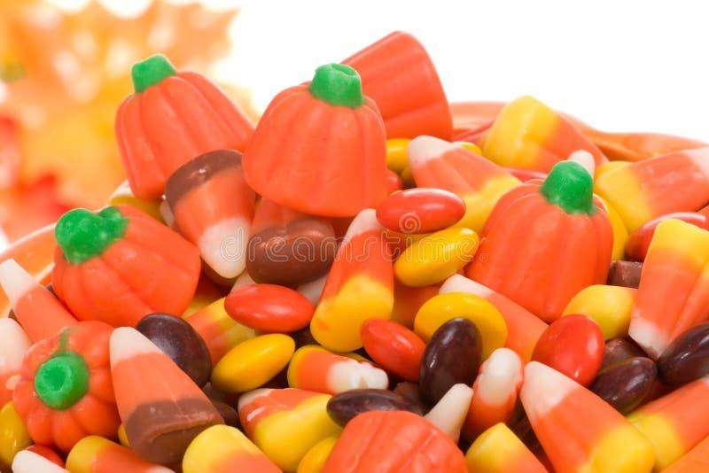 Doces de Halloween foto de stock