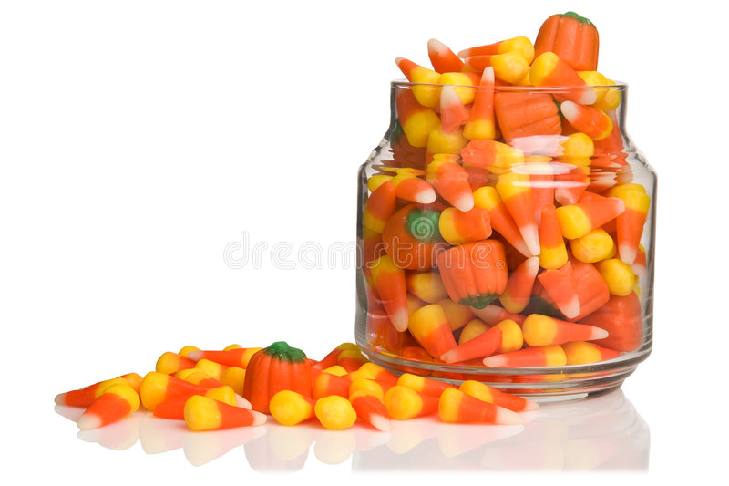 Doces de Halloween foto de stock