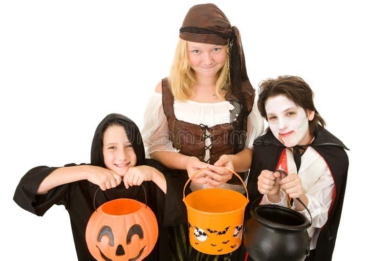 Doces de Halloween por favor fotografia de stock royalty free