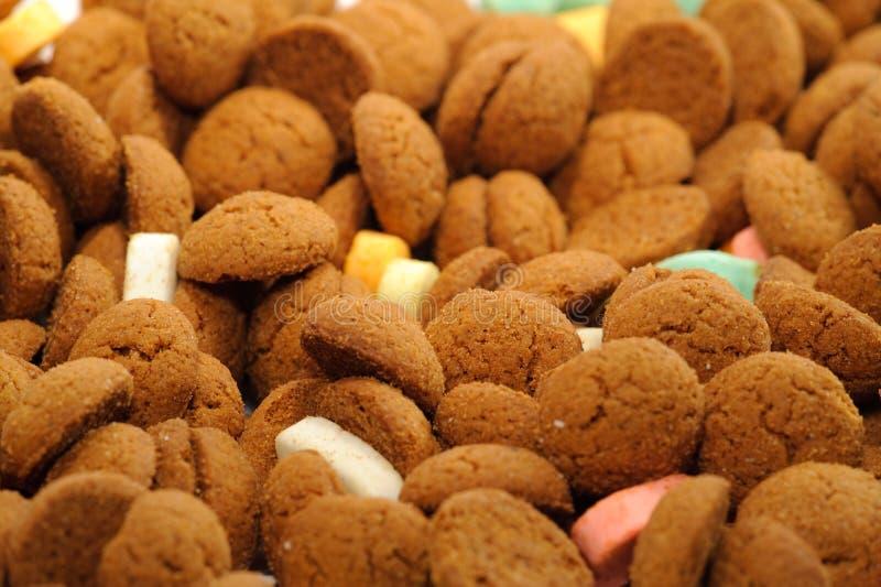 Doces de Sinterklaas fotos de stock