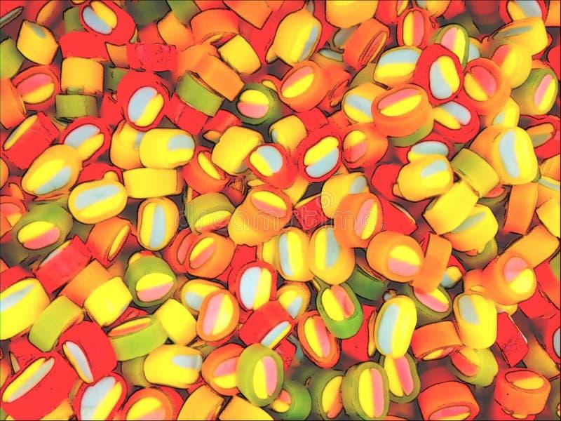Doces deliciosos coloridos fotos de stock