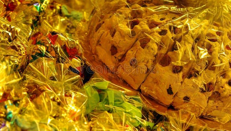 Doces e cookie para a venda foto de stock