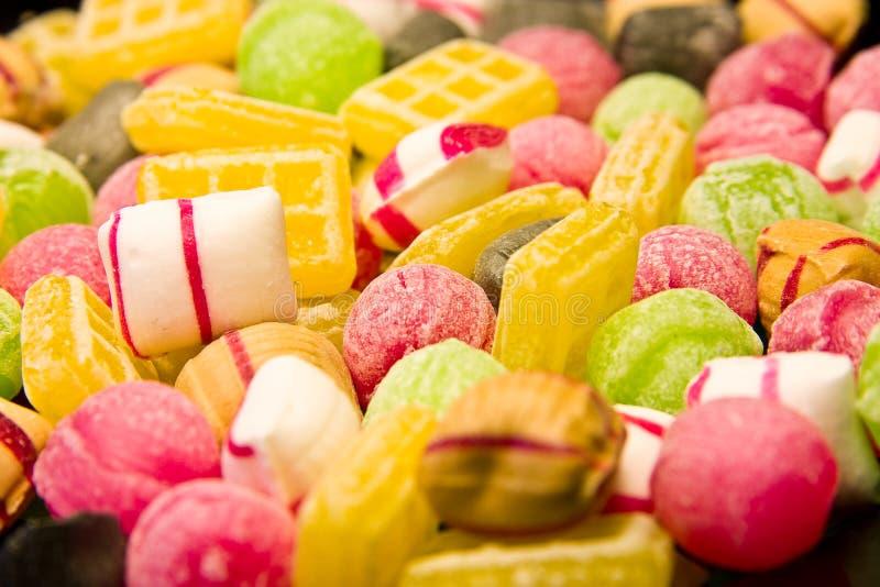 Doces holandeses fotografia de stock