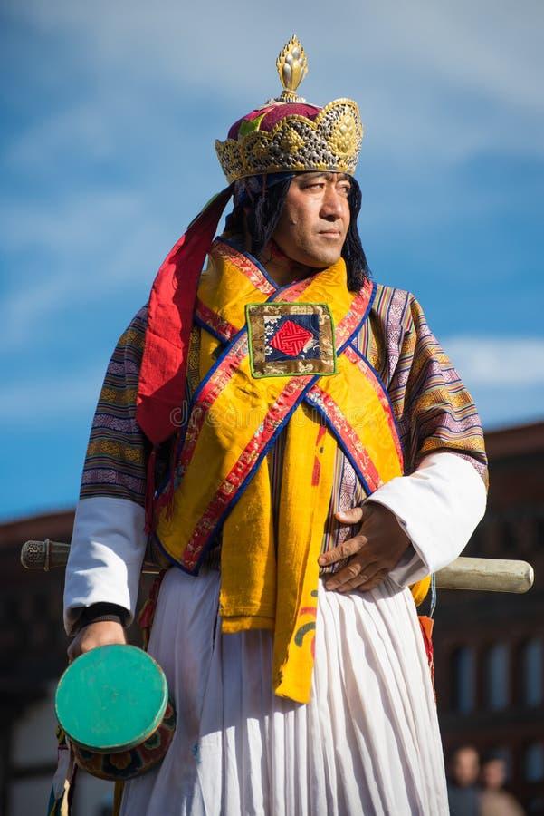 Dochula Druk Wangyel Festival 2014 stock image