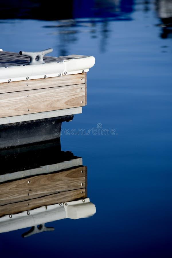Dock à la marina photo libre de droits