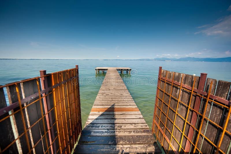 Dock stockbild