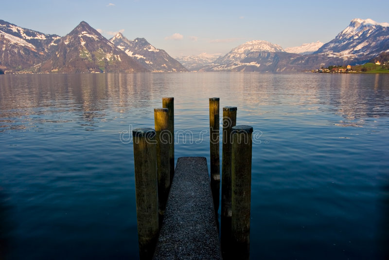 Download Dock stock photo. Image of rest, harbor, morning, leisure - 2223234