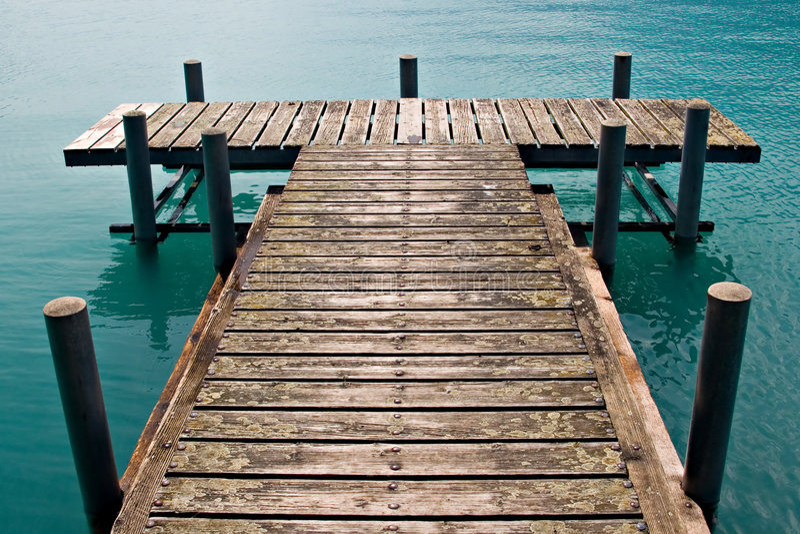Dock image libre de droits