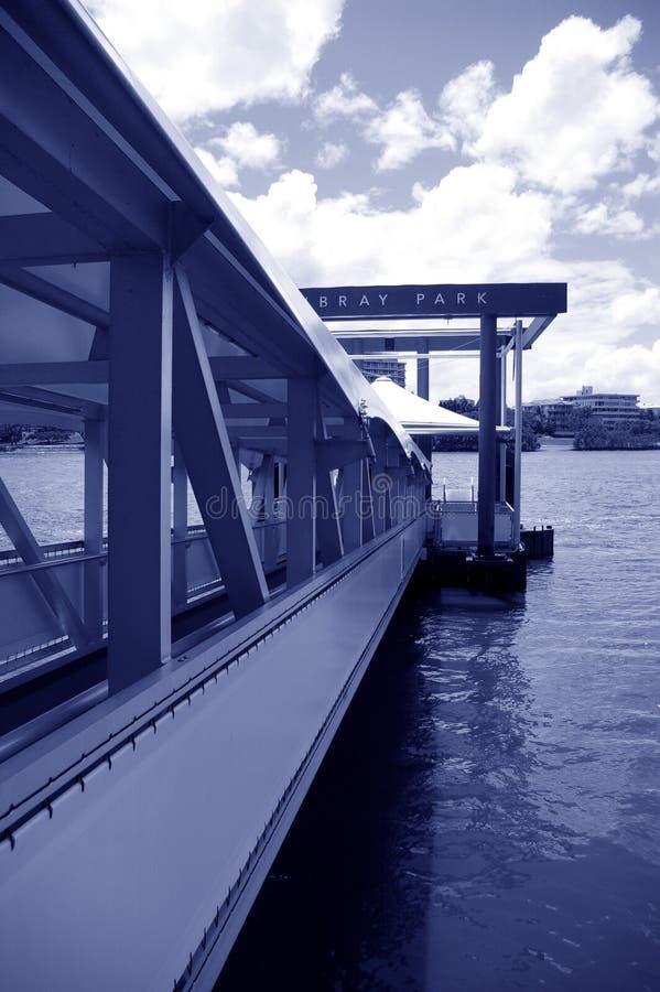 Dock au stationnement de Mowbray photos libres de droits