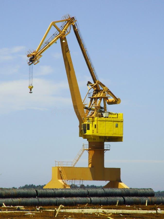 Download Dock crane stock image. Image of cargo, huge, container - 2825463