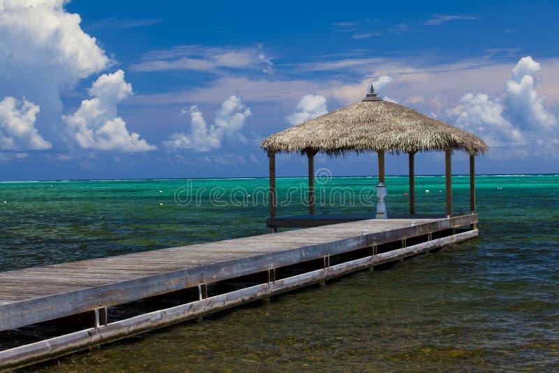 Dock d'océan photo libre de droits