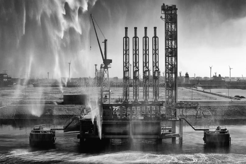 Dock de bateau photo libre de droits