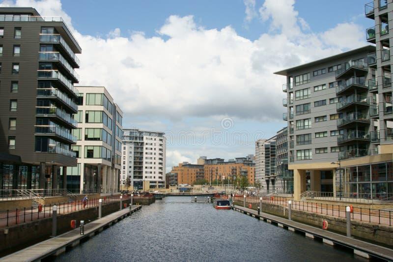 Dock de clarence de Leeds photographie stock