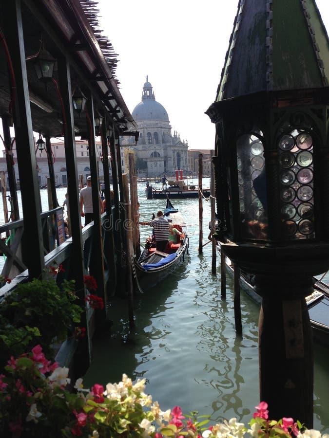 Dock de gondole photographie stock