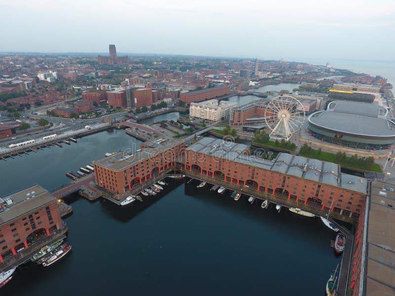 Dock de Liverpool Albert photo libre de droits