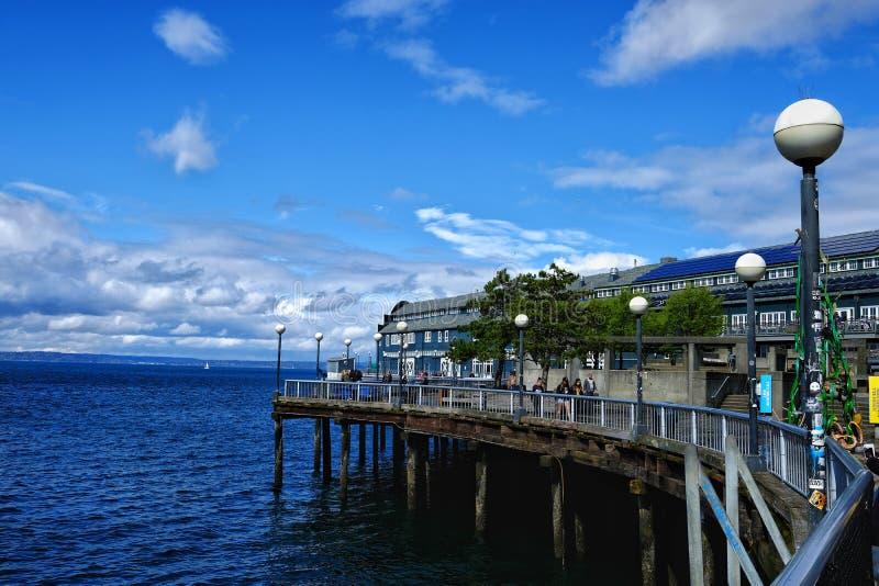Dock de Seattle photographie stock libre de droits