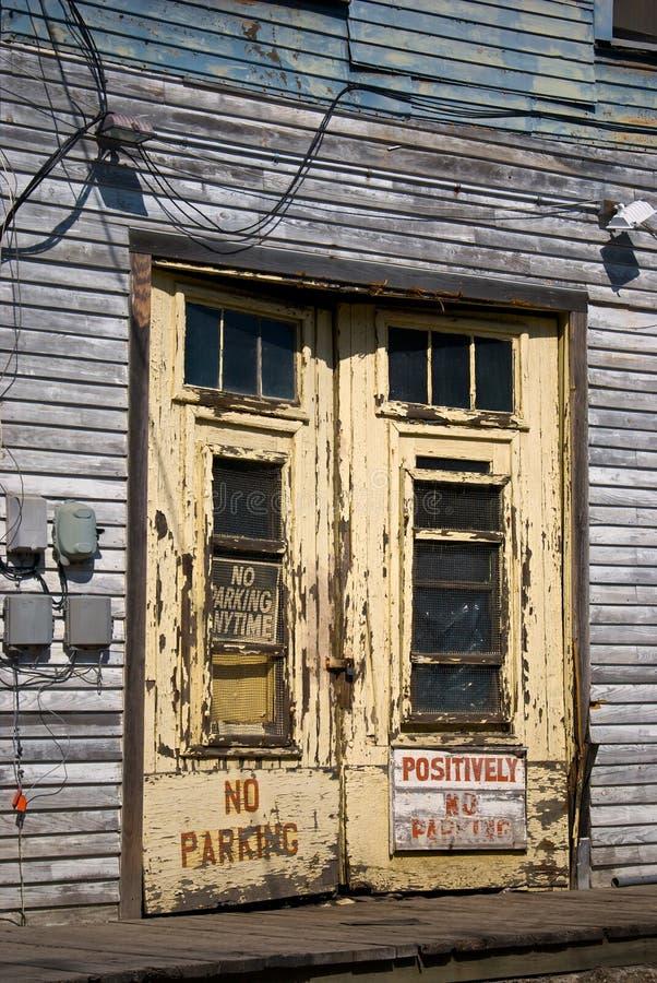 Download Dock doors stock photo. Image of entry, signs, peeling - 5310308