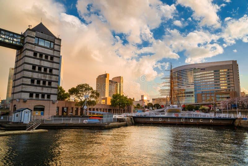 Dock N 1 à Yokohama photographie stock libre de droits