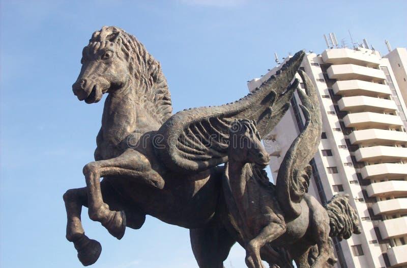 Dock Pegasus at Cartagena stock photography