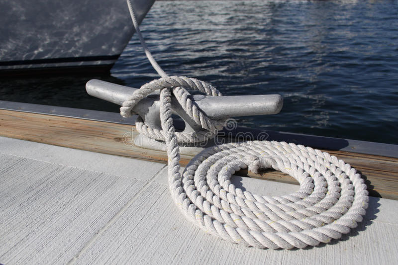 Dock Rope royalty free stock photography