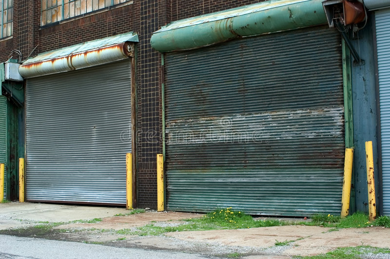 Dock-Türen stockfoto