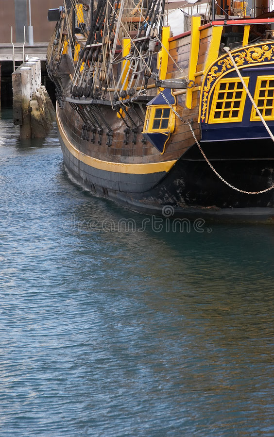 Download Docked stock photo. Image of tall, vessel, pier, moored - 1404700