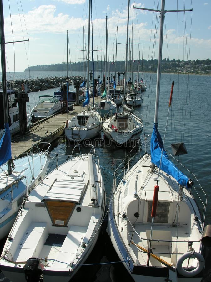Download Docked Boats stock photo. Image of sport, boats, sailing - 1133714