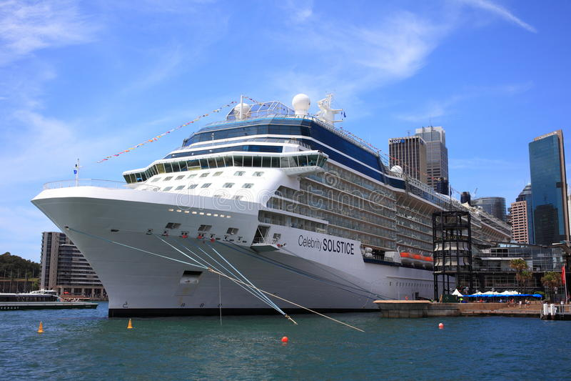 Download Docked Cruise Ship In Sydney Editorial Stock Photo - Image: 28737733