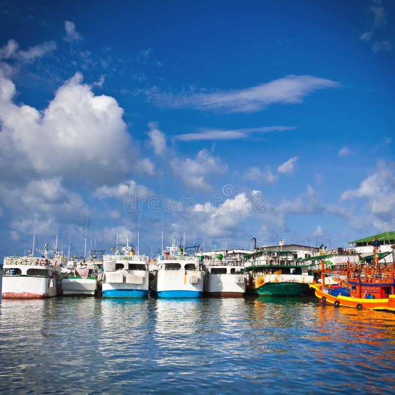Download Docking Boats stock photo. Image of anchor, sirae, fishing - 20093444
