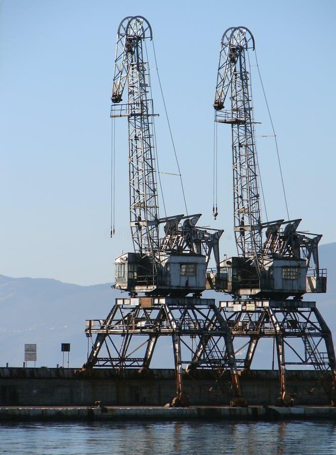 Download Docking crains stock image. Image of grapple, sailor, picklock - 489101
