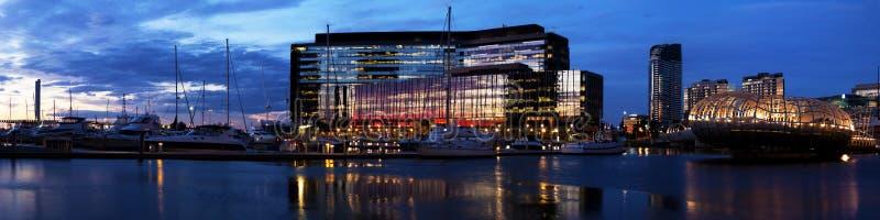 Docklands de Melbourne fotografía de archivo libre de regalías