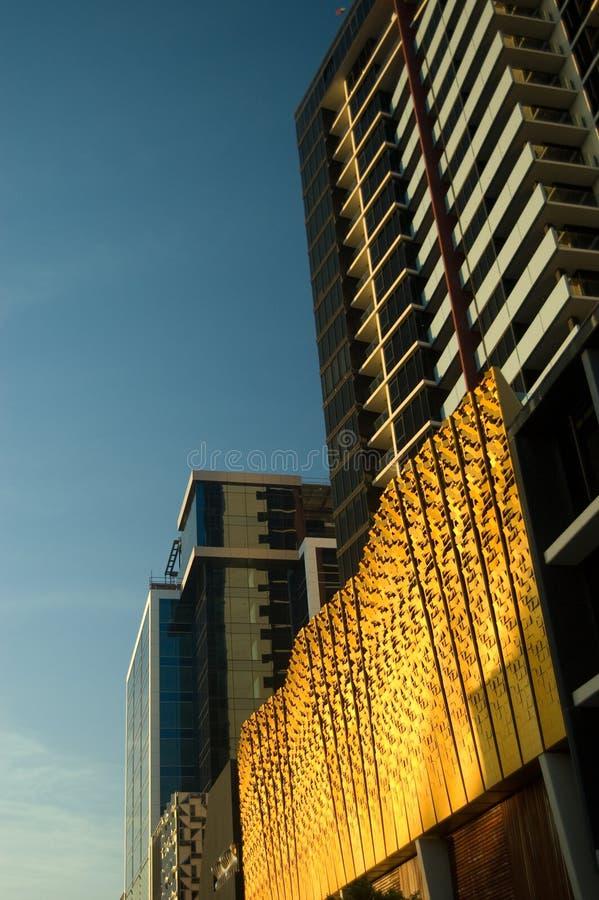 Docklands di Melboure fotografia stock libera da diritti