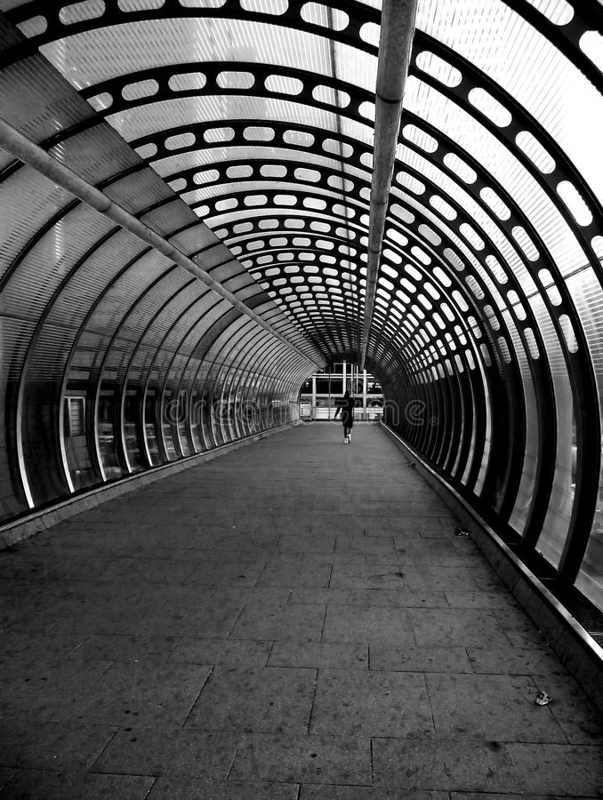 Docklands Tunnel Stock Images