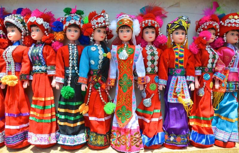 Dockor för etnisk kines fotografering för bildbyråer