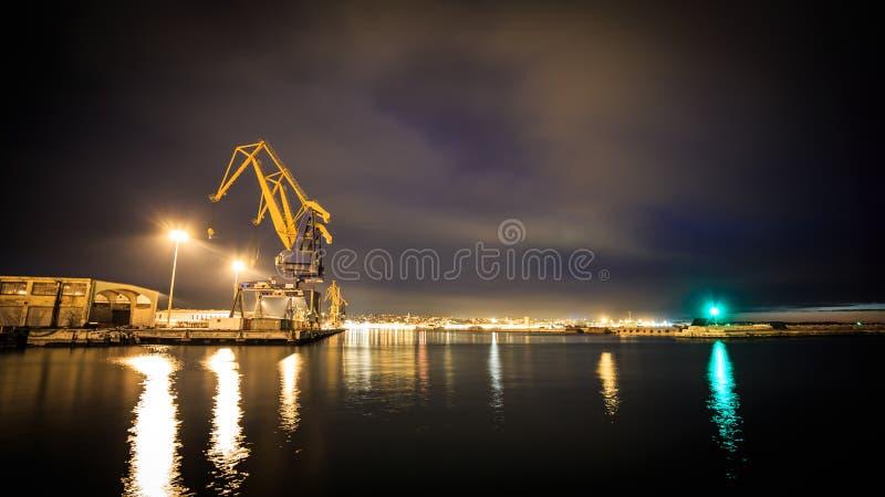 Docks de Trieste photo stock
