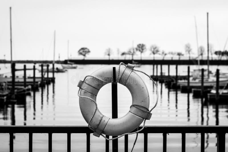 Docks, Milwaukee stockbild