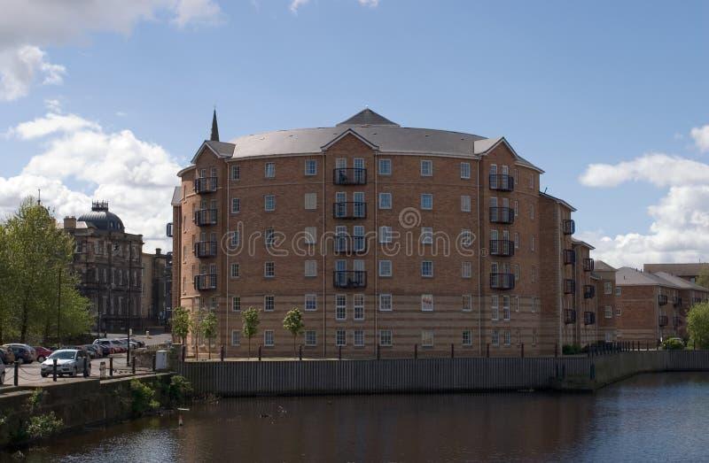 Dockside-Häuser 2 stockfotos