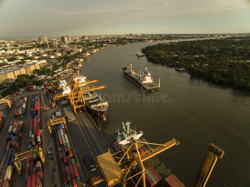 dockyard stock afbeelding