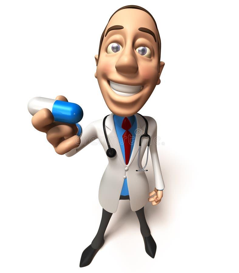 Download Docteur illustration stock. Illustration du clinique, soins - 4350412