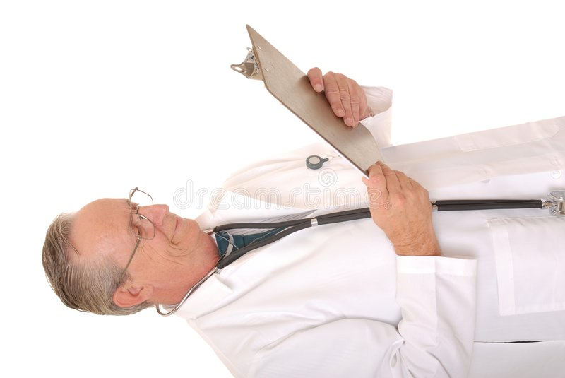 Docteur aîné photos stock