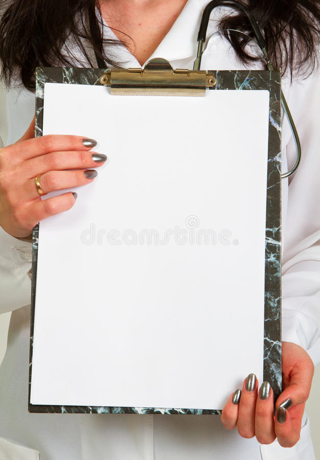 Docteur anonyme photographie stock