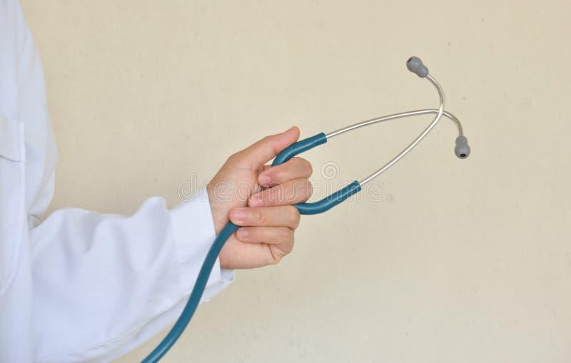 Docteur avec un stéthoscope image libre de droits