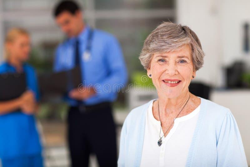 Docteur de femme d'Ederly image libre de droits