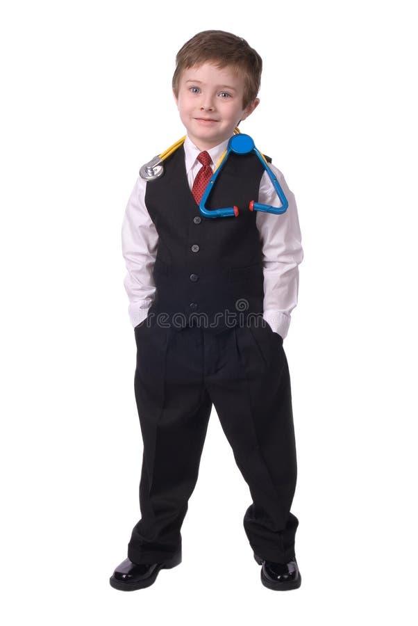 Docteur de garçon images libres de droits