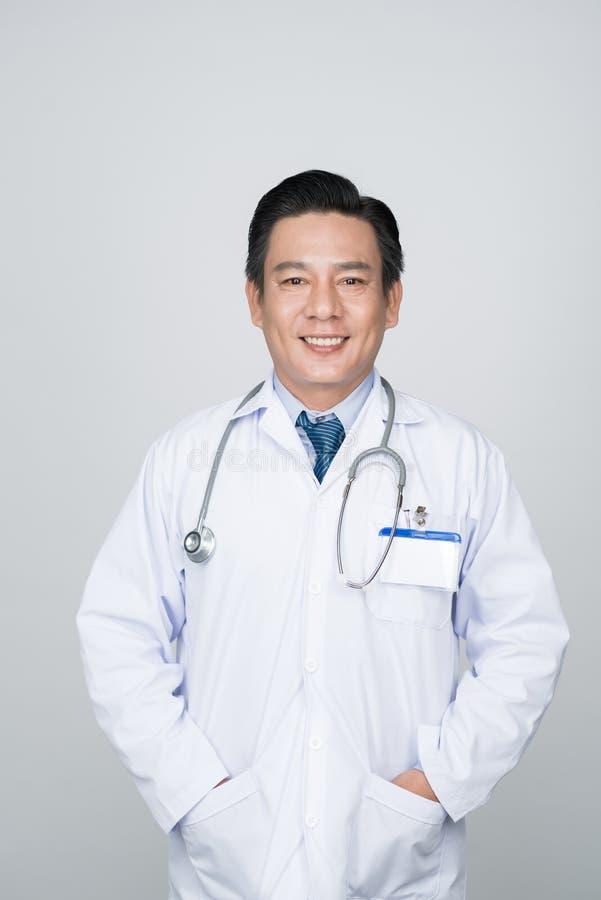 Docteur de sourire sûr photographie stock