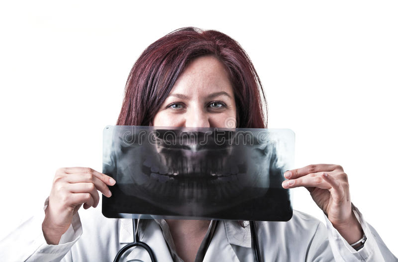 Docteur drôle photographie stock libre de droits