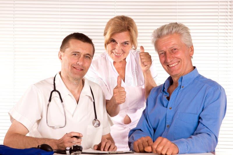 Docteur et citoyens image libre de droits