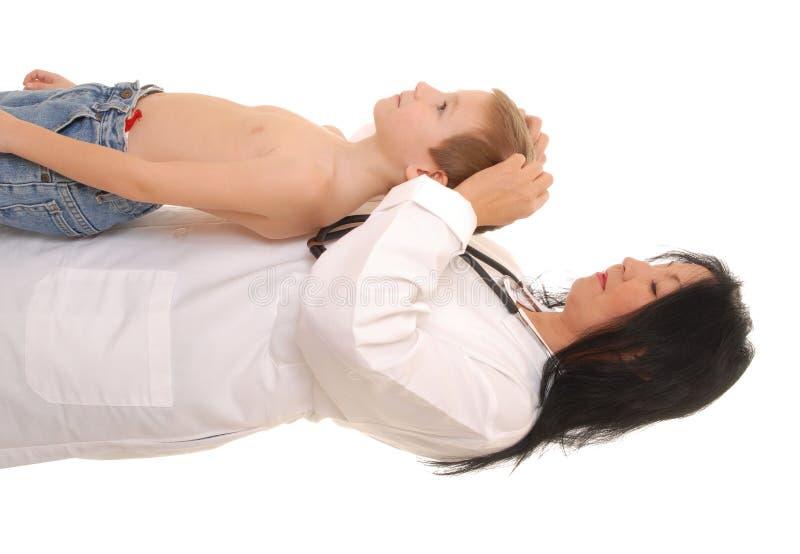 Docteur et patient 28 photographie stock libre de droits