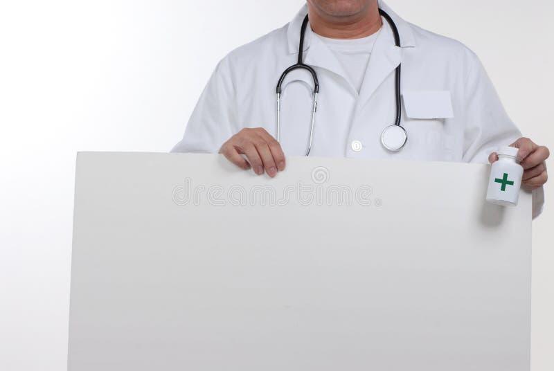 Docteur et stéthoscope images stock
